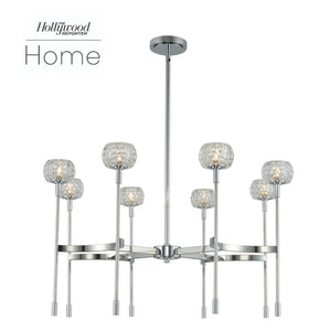 Kalco - 511672CH - LED Chandelier - Mae - Chrome