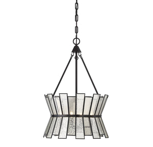 Savoy House - 7-2190-4-13 - Four Light Pendant - Chapelle - English Bronze