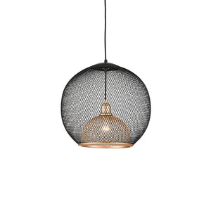 Kuzco Lighting - 494418-BK/GD - One Light Pendant - Gibraltar - Black / Gold
