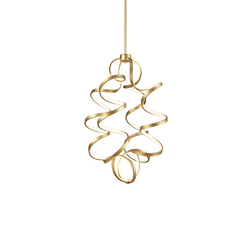 "Kuzco Lighting Chandelier 23.63"" Synergy CH93934-AN"
