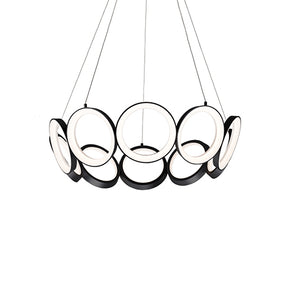 Kuzco Lighting - CH94829-BK - Chandelier - Oros - Black