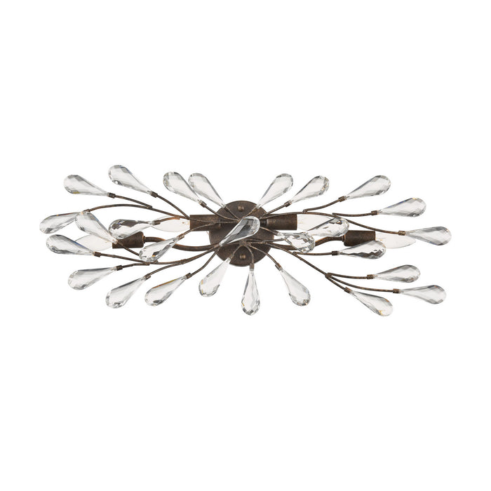 "Elk Lighting Four Light Vanity 28.00"" Sunglow Bronze"