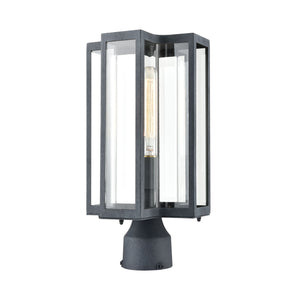 Elk Lighting - 45168/1 - One Light Post Mount - Bianca - Aged Zinc
