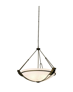 Kalco - 4845TO/ALAB - Three Light Pendant - Grande - Tortoise Shell
