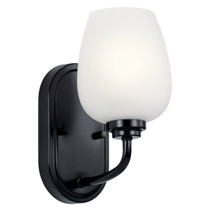 Kichler - 44381BK - One Light Wall Sconce - Valserrano - Black