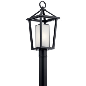 Kichler - 49880BK - One Light Outdoor Post Mount - Pending Family Assignment - Black