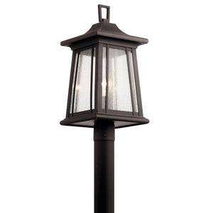 Kichler - 49911RZ - One Light Outdoor Post Mount - Taden - Rubbed Bronze