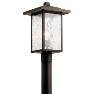 Kichler - 49927OZ - One Light Outdoor Post Mount - Capanna - Olde Bronze