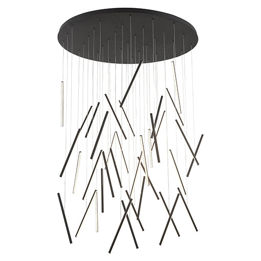 "Kuzco Lighting Pendant 50.00"" MP14850-BK"