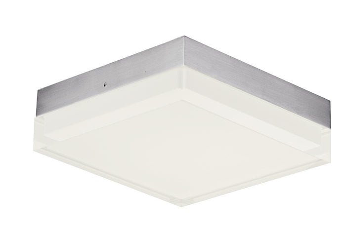 "Maxim LED Flush Mount 6.25"" Satin Nickel"