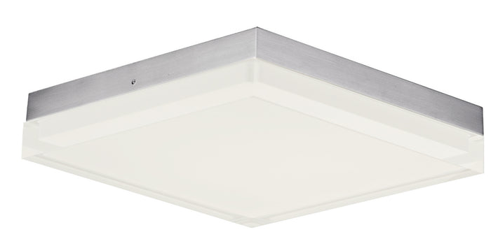 "Maxim LED Flush Mount 10.50"" Satin Nickel"