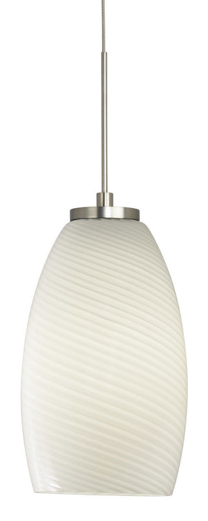 Stone Lighting - PD185OPSNLA12M - LED Pendant - Java - Satin Nickel