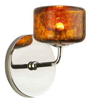 Stone Lighting - WS217AMPNX3 - Wall Sconce - Krypto - Polished Nickel