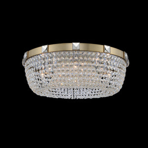 Allegri - 027940-038-FR001 - Eight Light Flush Mount - Impero - Brushed Champagne Gold