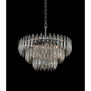 Allegri - 034740-010-FR001 - Six Light Convertible Pendant - Flush Mount - Pandoro - Chrome
