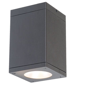 W.A.C. Lighting - DC-CD06-F835-GH - LED Flush Mount - CUBE ARCH - Graphite