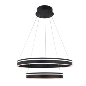 W.A.C. Lighting - PD-40902-BK - LED Pendant - Voyager - Black