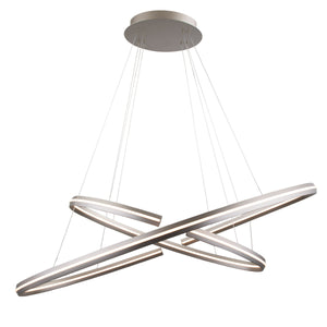 W.A.C. Lighting - PD-48948-SN - LED Pendant - Orbit - Satin Nickel