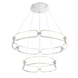 W.A.C. Lighting - PD-54934-BN - LED Chandelier - Charmed - Brushed Nickel