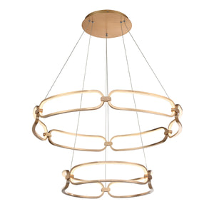 W.A.C. Lighting - PD-54934-SG - LED Chandelier - Charmed - Soft Gold