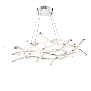 W.A.C. Lighting - PD-60944-CH - LED Chandelier - Divergence - Chrome