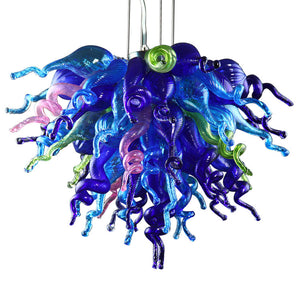 Viz Art Glass ColorSelect Wonders Of The Sea Chandelier