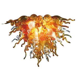 Viz Art Glass ColorSelect Sunshine Chandelier