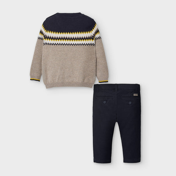 Mayoral Jumper and trousers set for baby boy 2586