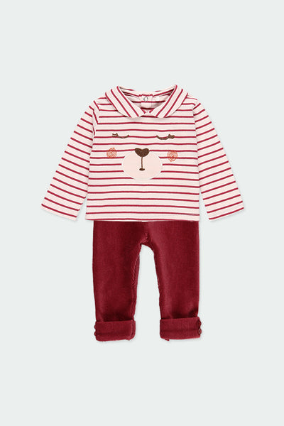 Boboli Jersey top and legging set 121037