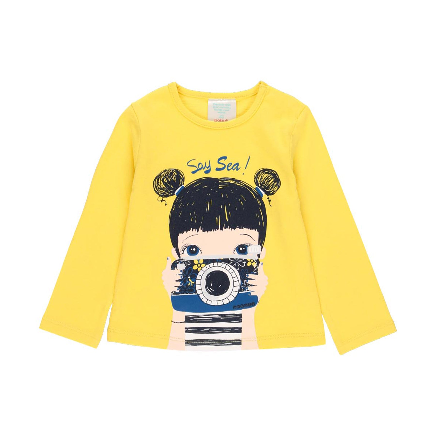 Boboli Say sea camera t-shirt 202004