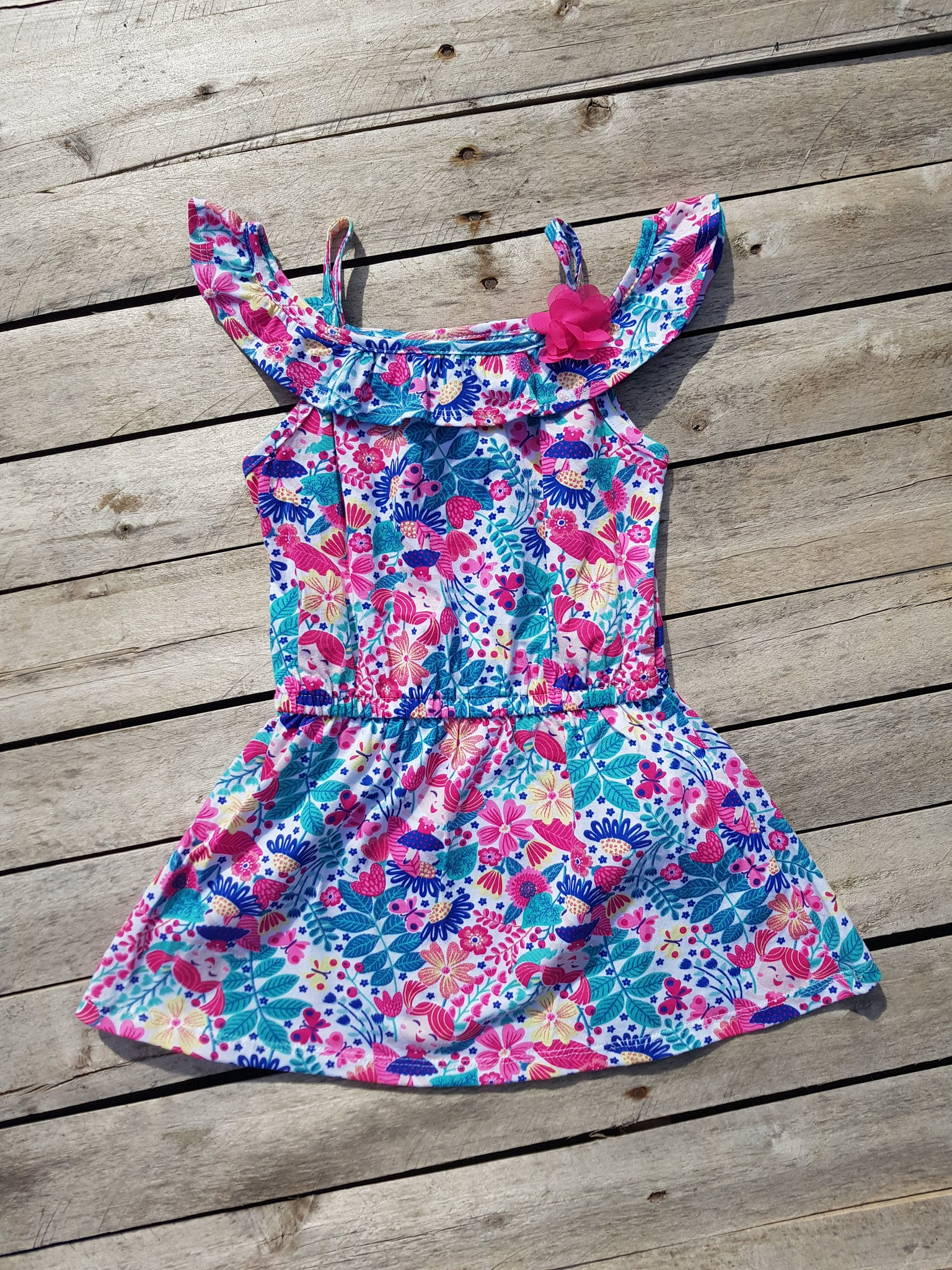 Kyly floral dress