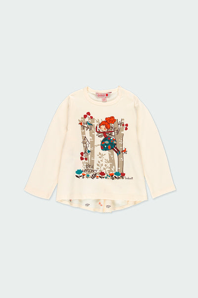 "Boboli Long Sleeve t-shirt ""trees"""