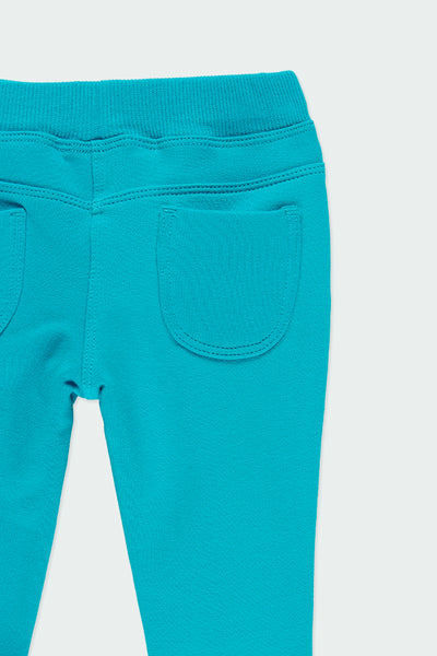 Boboli Stretch fleece trousers