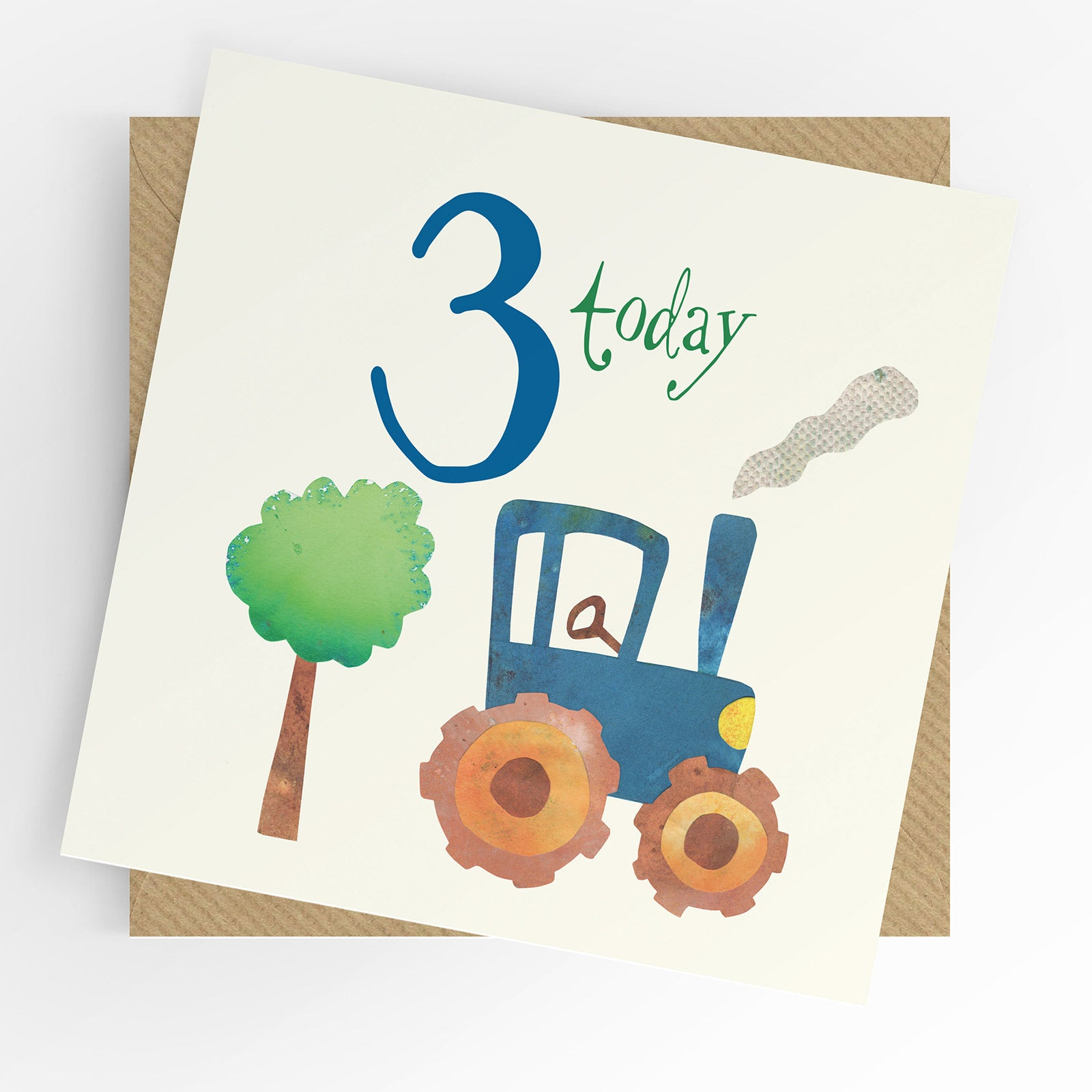 UTWT card - 3 today tractor
