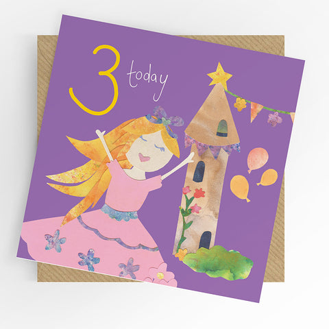 UTWT card - 3 princess