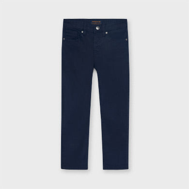 Mayoral slim fit navy trousers 509
