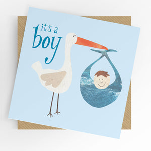 UTWT card - It's a boy