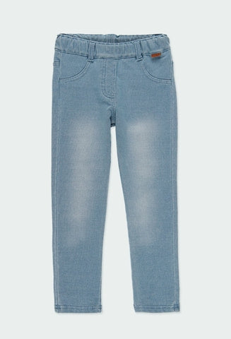 Boboli washed denim jegging 490014