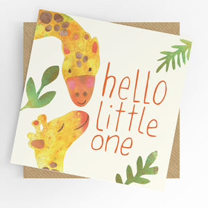 UTWT card - Hello Little one
