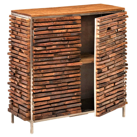 Modern rustic square cabinet rustic sideboard accent cabinet rustic wood planks design