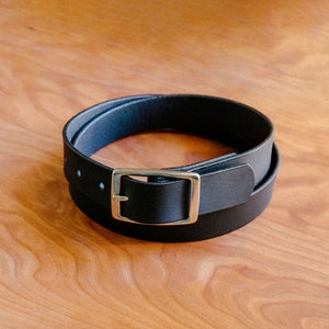 Belt Slim - Matte Black