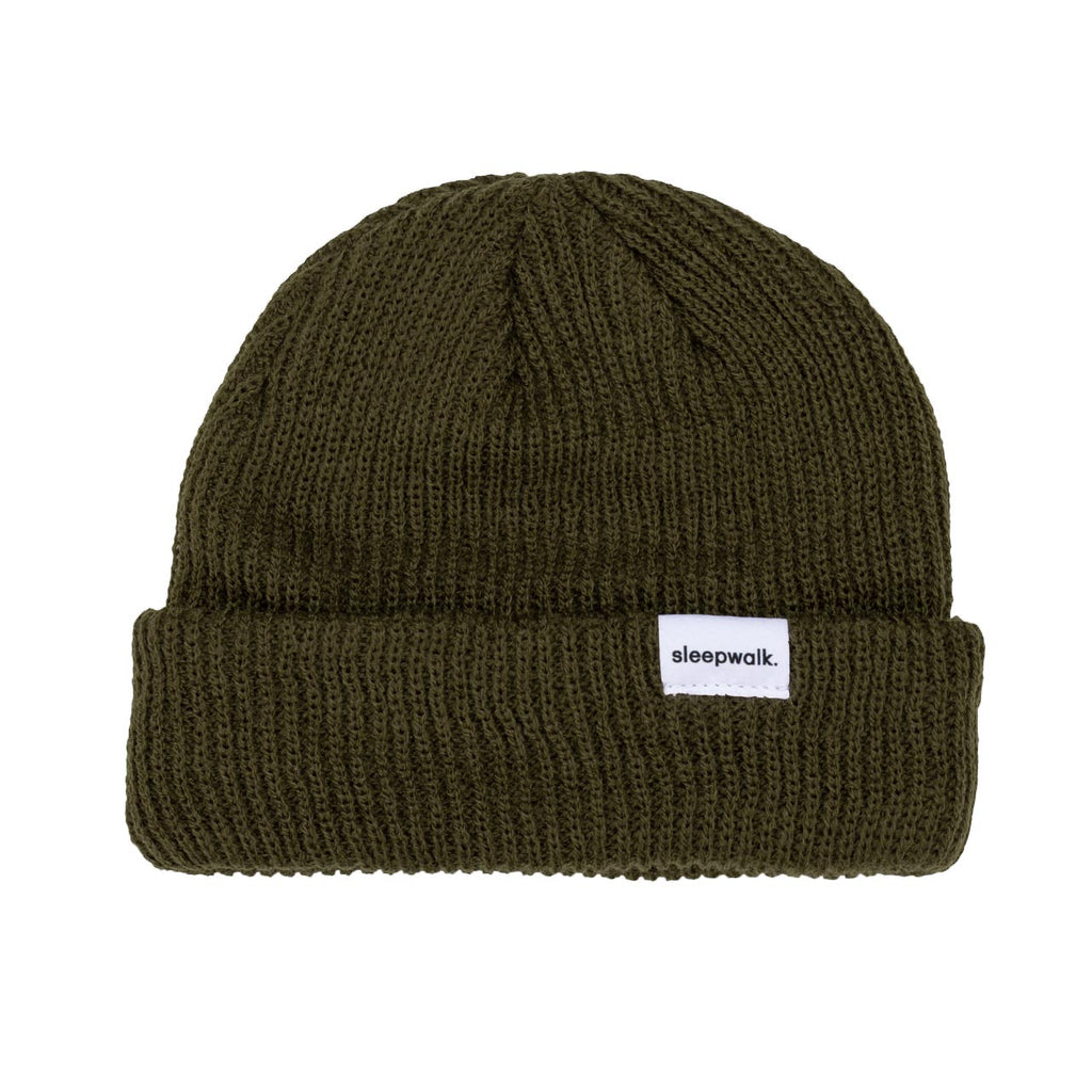 sleepwalk ltd beanie army green