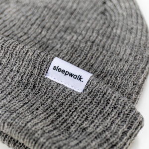 White Label Beanie - Grey