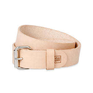 sleepwalk ltd belt natural veg tan