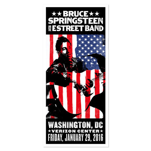 The River Washington DC Event Poster