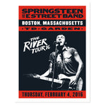 The River Boston Event Poster