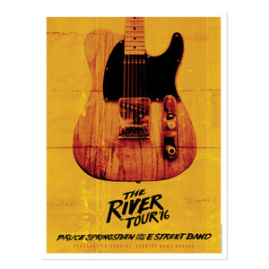 The River Sunrise Event Poster