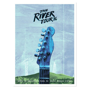 The River University Park Event Poster