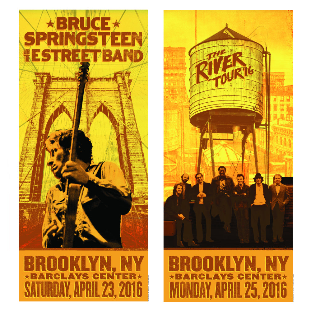 The River Brooklyn Event Posters