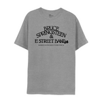 Bruce Springsteen and the E Street Band Gray Tee